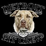 detroit pit crew logo shop embroidered dog rescue icon